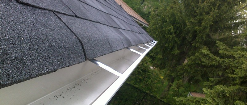 New Eavestrough Installation