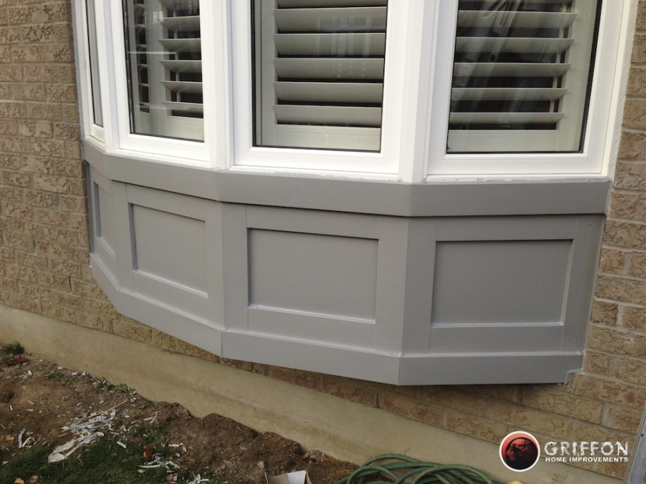 Capping for windows and doors.